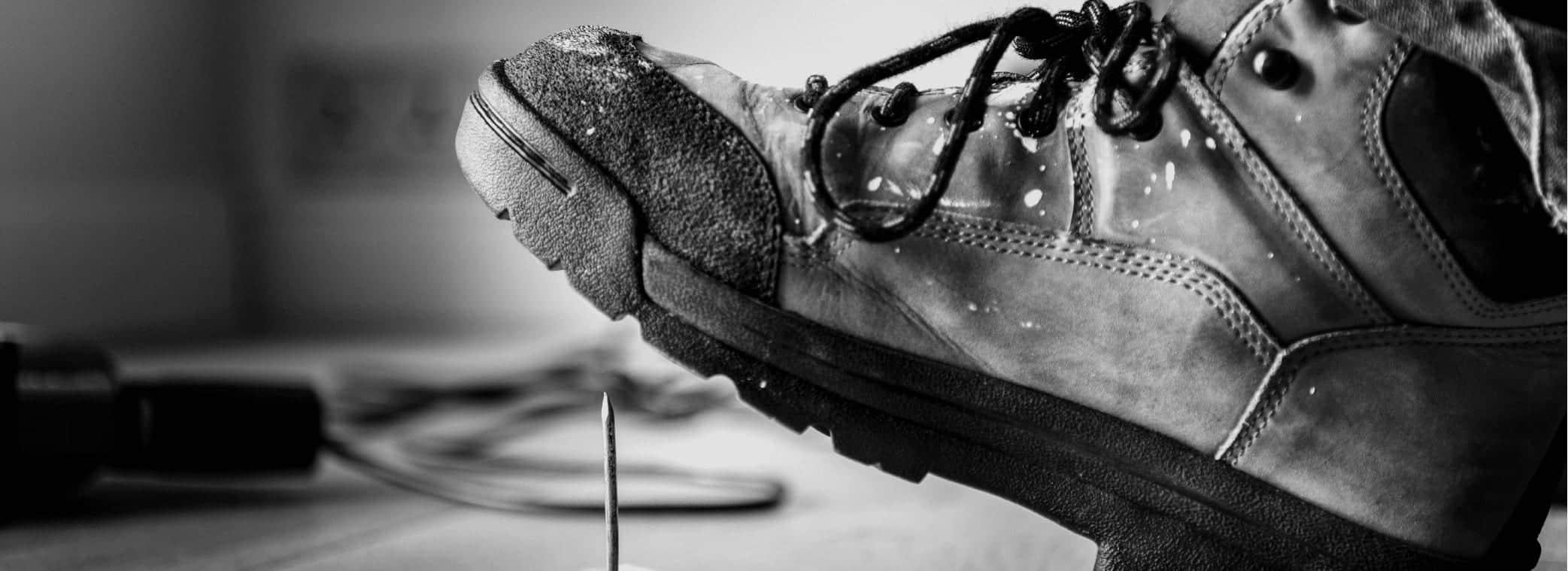 Zolen in veiligheidsschoenen Podotherapie Reggestreek Rijssen