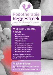 Verhuisbericht Podotherapie Reggestreek Rijssen