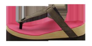 Podotherapeutische slippers Ladiesfun nubuck 1