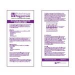 Thumbnail Flyer Belasting Belastbaarheid en Overbelasting Podotherapie Reggestreek Rijssen